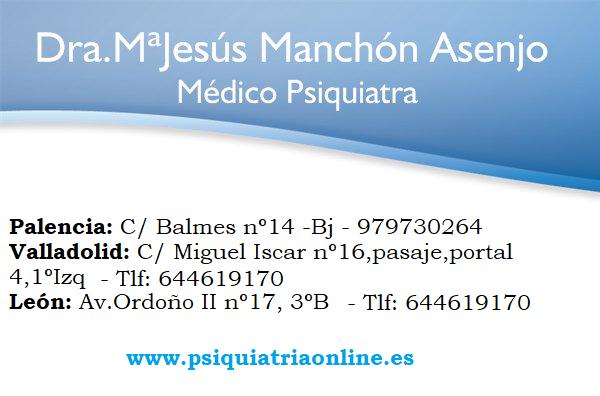 Mª Jesús Manchón - Psiquiatra León