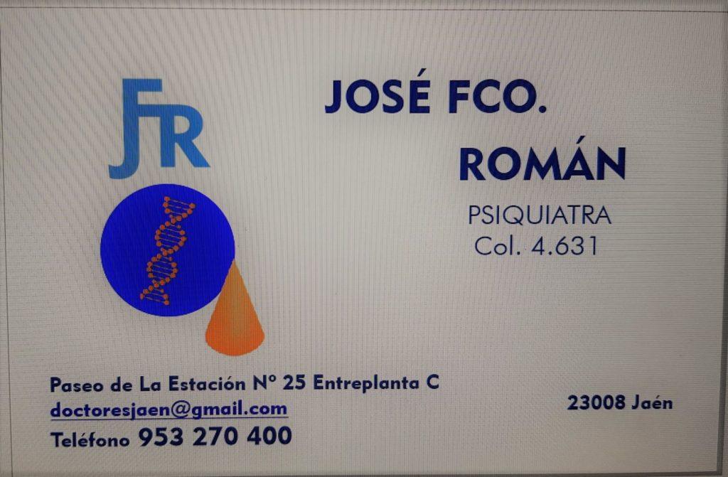 JOSÉ FRANCISCO ROMÁN MARTÍN